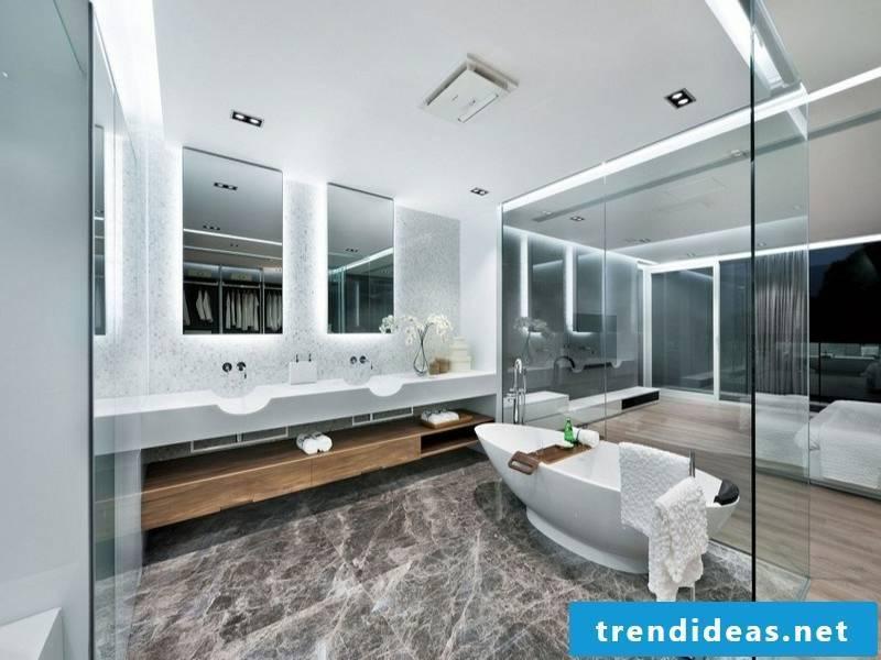 butne marble tiles in the bathroom