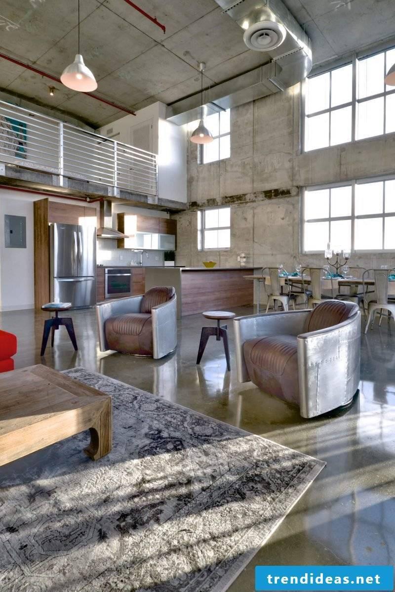 Industrial living room Industrial furniture