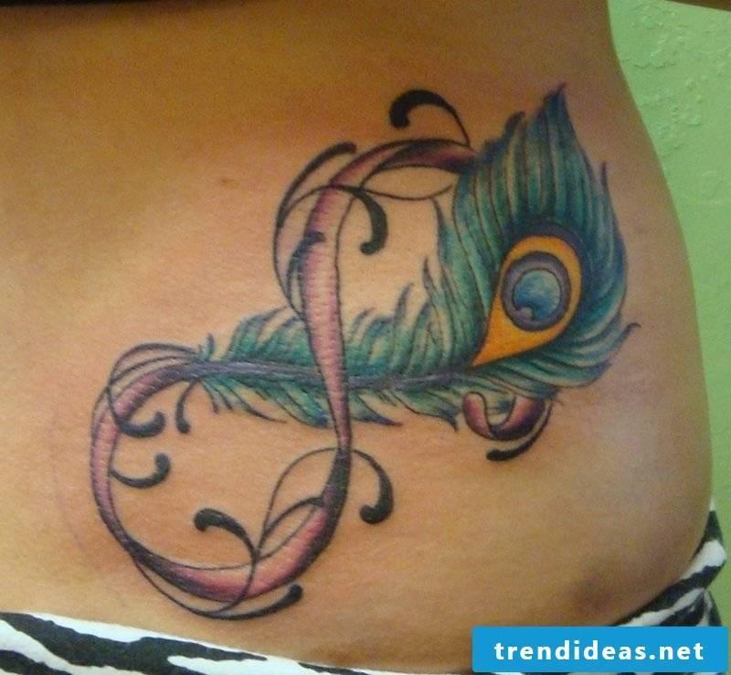 infinite sign tattoo