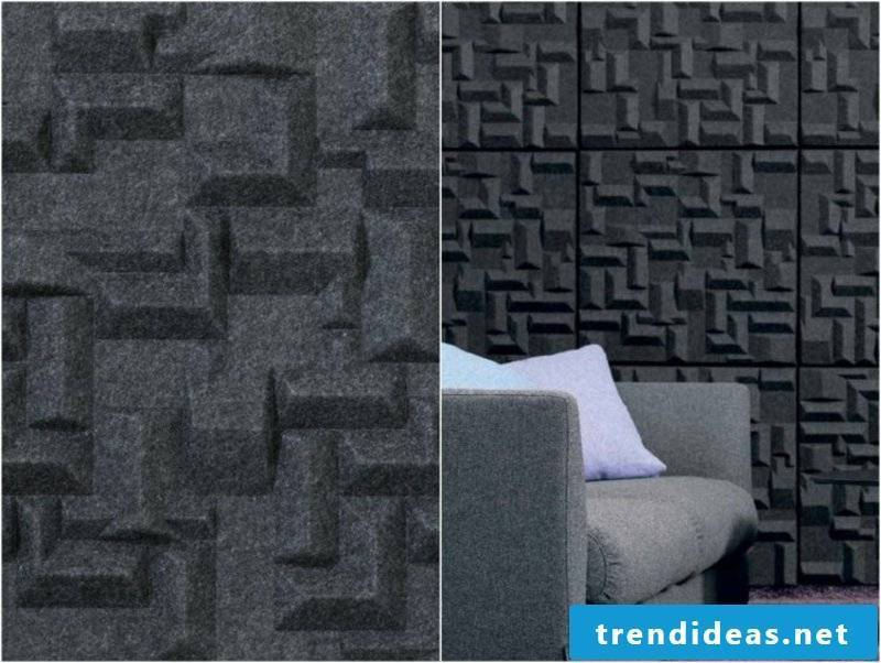 Acoustic panels polyester