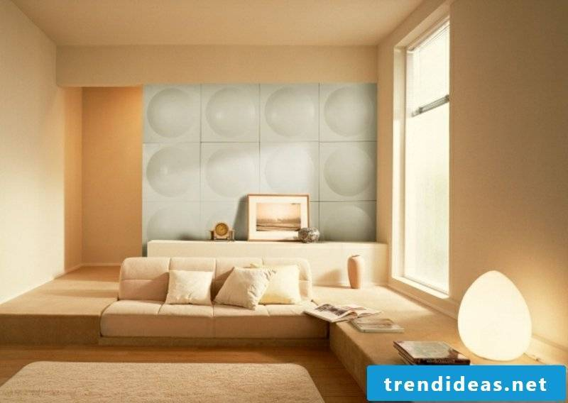 Acoustic panels wall design