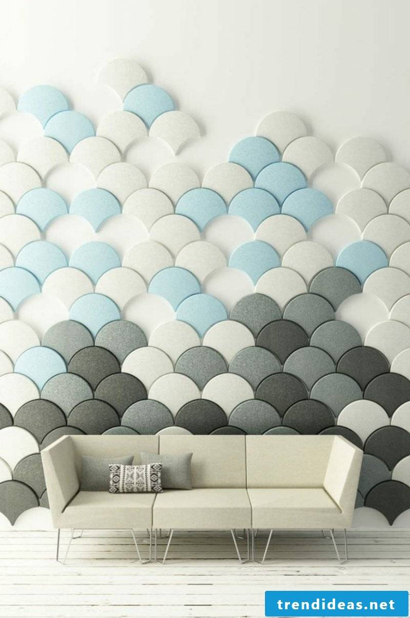 Acoustic panels wallcovering