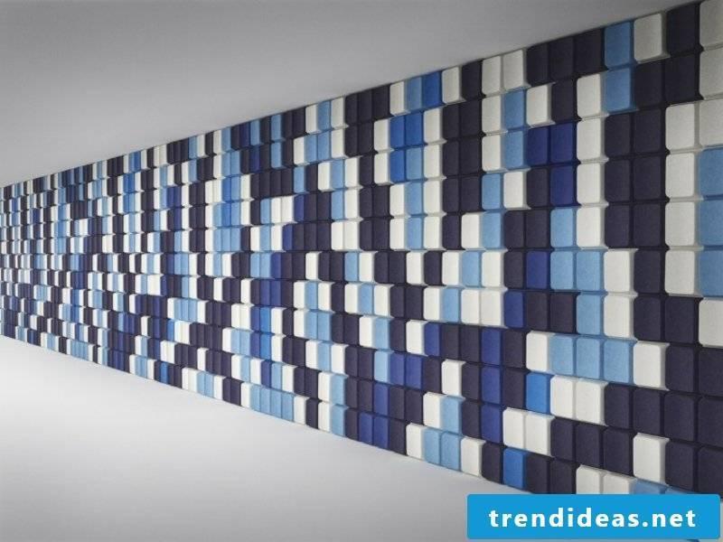creative wall design acoustic panels
