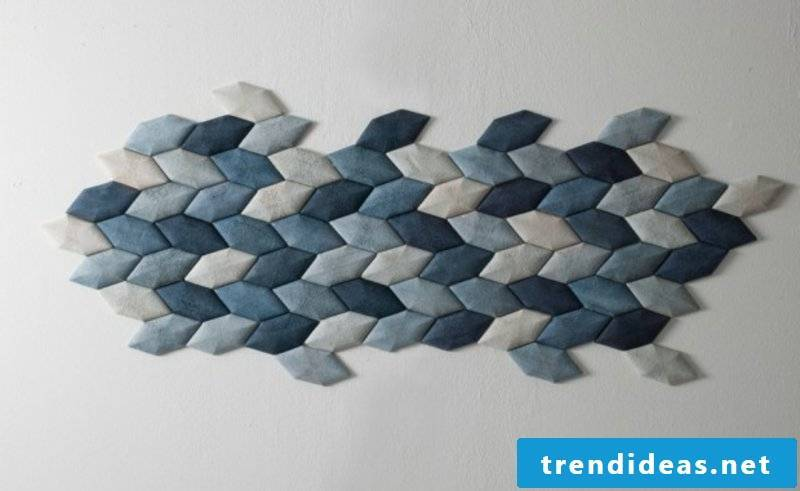 interesting acoustic panels with geometric motifs