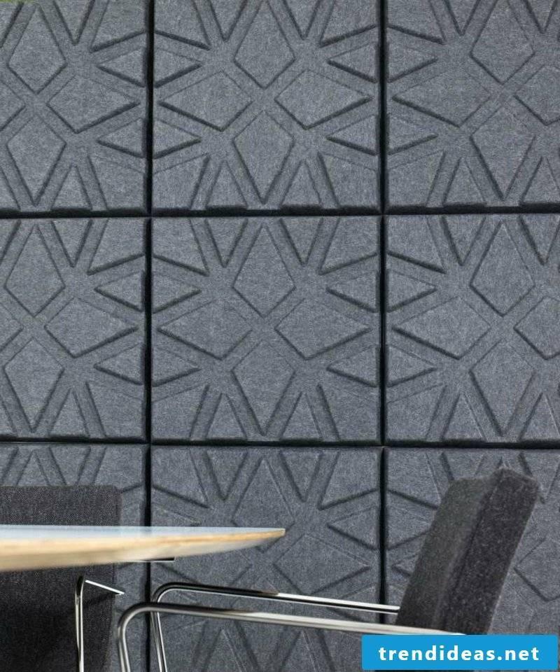 Acoustic panels modern wall paneling