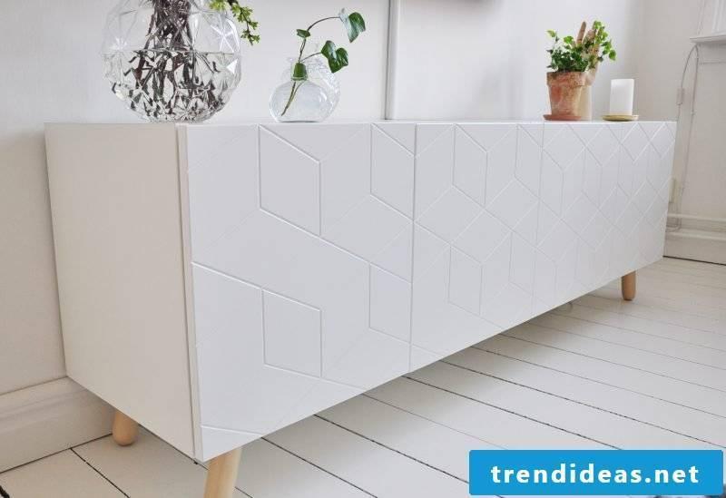 Ikea Besta Regal with unique fronts