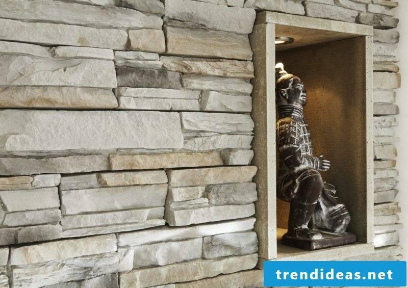 inside stone wall cozy