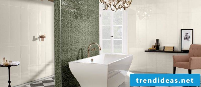 Italian tiles green