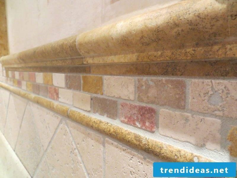 Italian tiles stone look