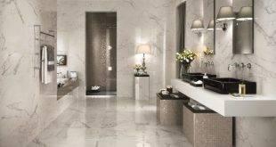 Inspiration: 37 ideas for Italian tiles in the bathroom