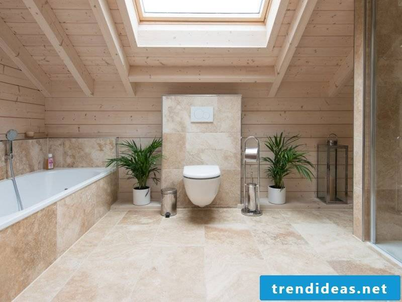 Italian tiles travertine