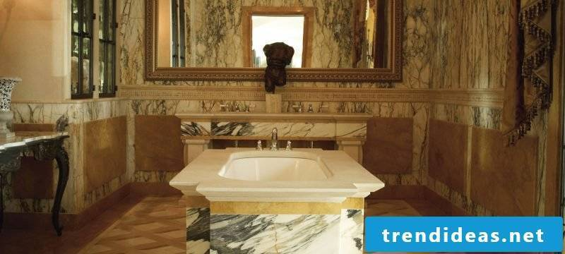 Italian tiles marble gold