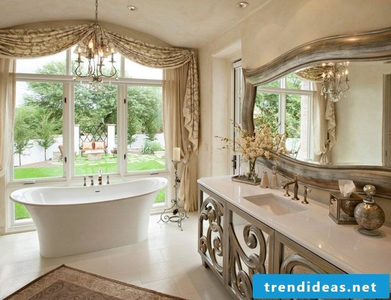 Baroque furniture bathroom furnishings