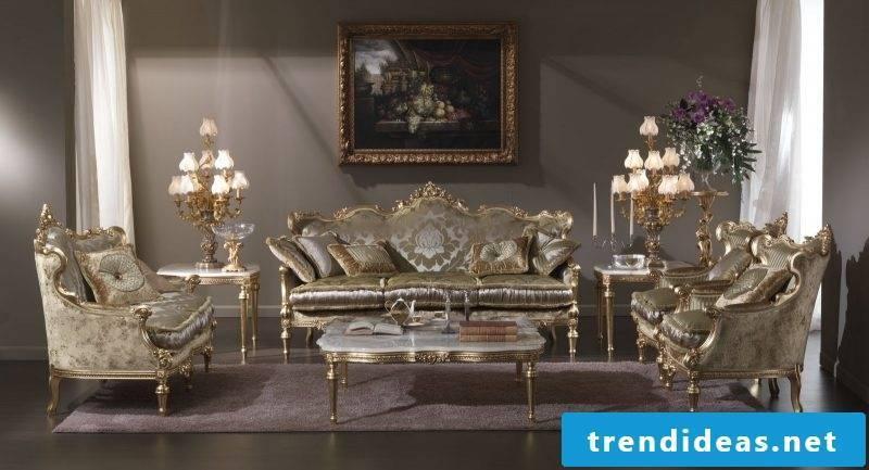 Baroque furniture armchair sofa