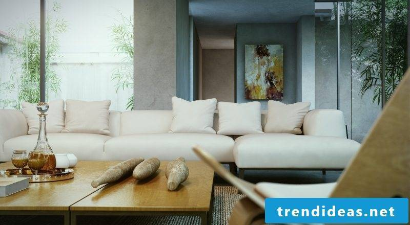 furniture country style white leather sofa design furnishing living room table wood