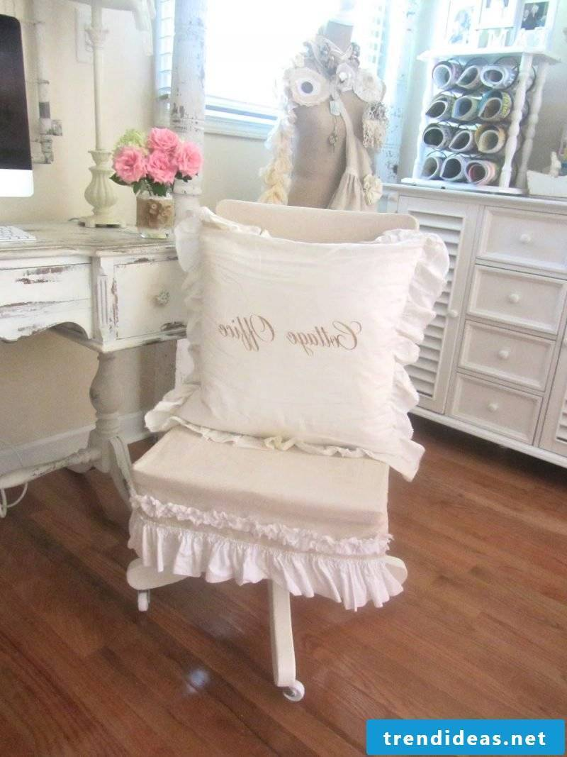 country style furniture white office table wood wooden chair deco ideas