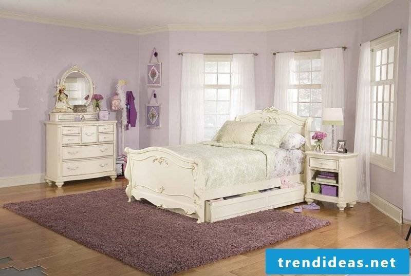 white country house furniture country furniture white bed interior design bedside table window curtains