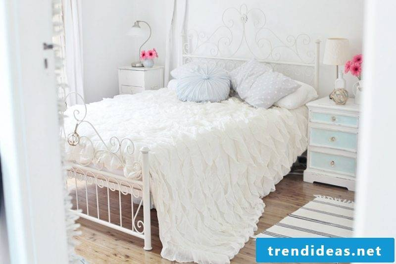 white country house furniture bed metal country style furniture white bedroom decorating charm deco ideas