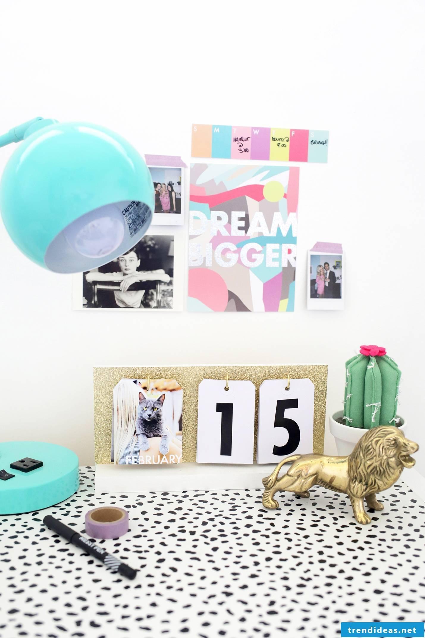 Do you know how to design a photo calendar yourself?