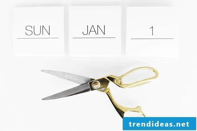 Create a photo calendar yourself: Step 2