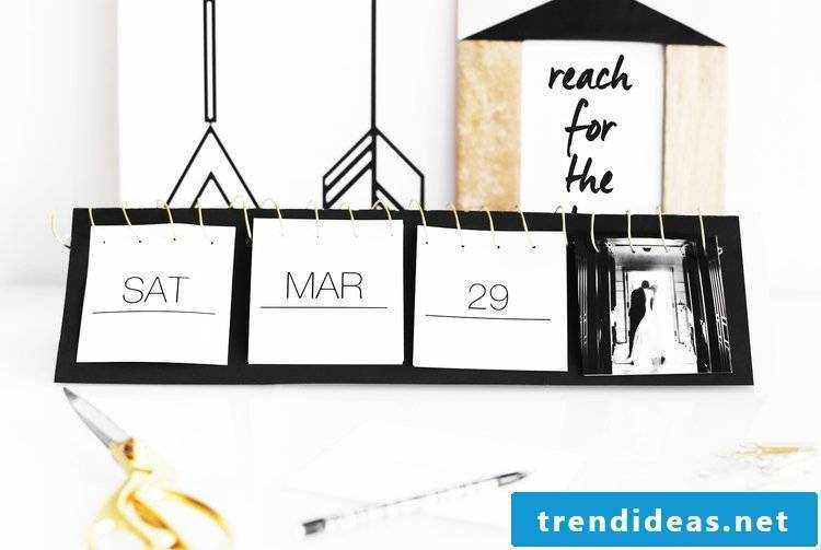 Our idea for photo calendars self-design aimed at all craft fans regardless of gender and age.