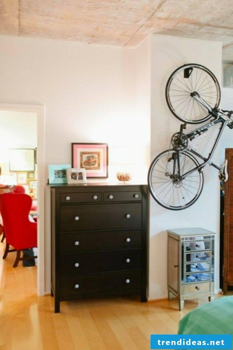bike holder wall bike stander