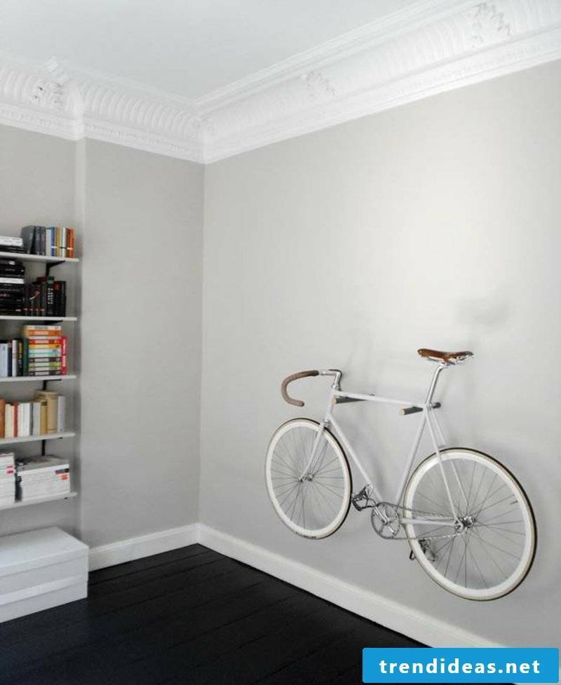 bicycle holder wall hoe