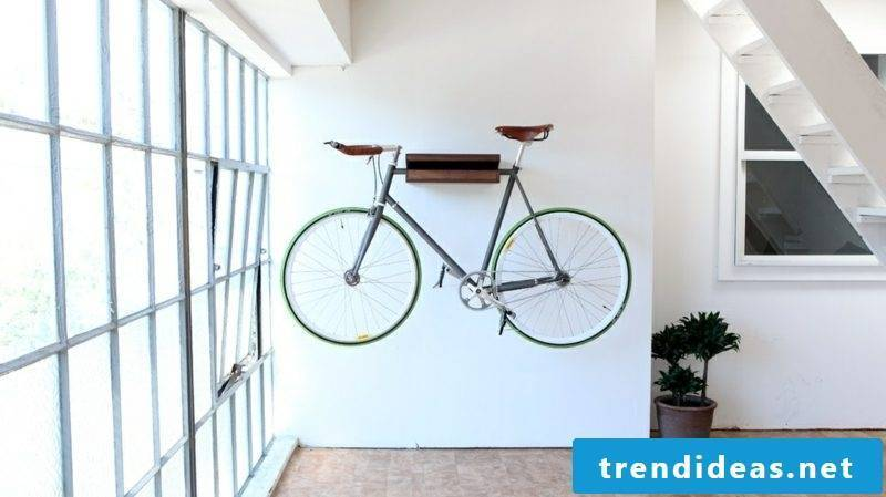 bicycle holder wall