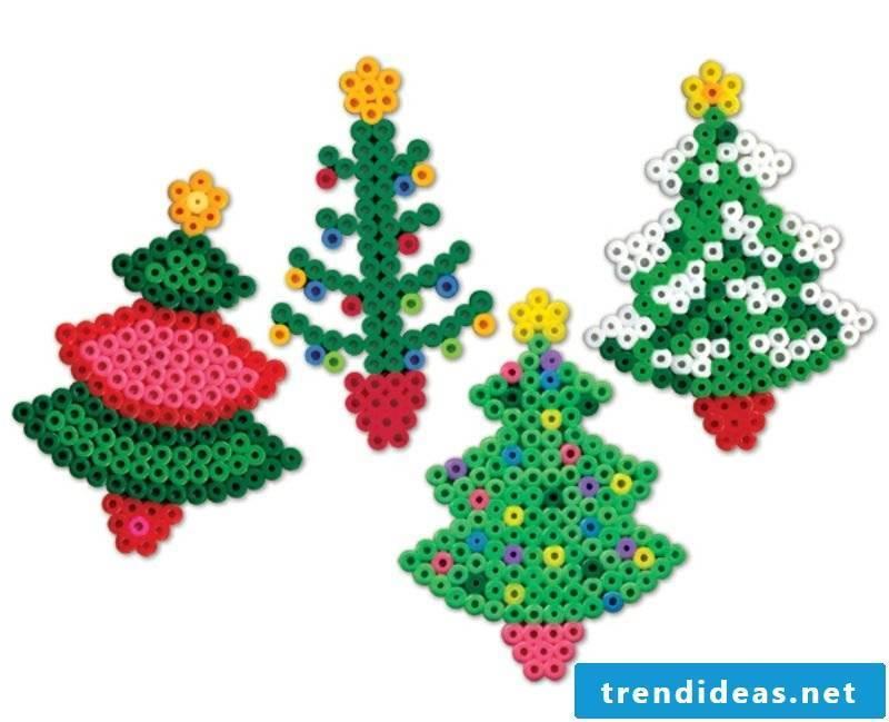 Iron-on beads templates Christmas Christmas tree