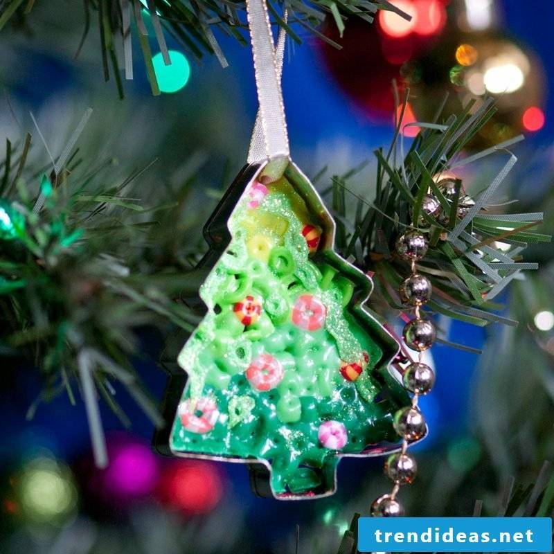 Iron-on beads templates Christmas Cookie cutter Christmas tree