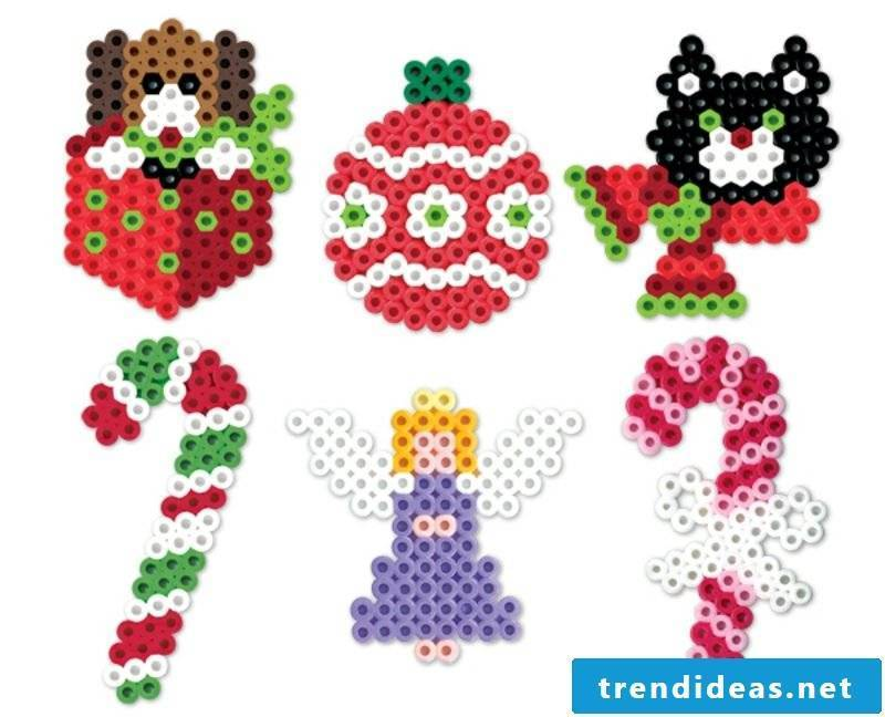 Beading Template Christmas Candy Cane Christmas Ornament Little Angel
