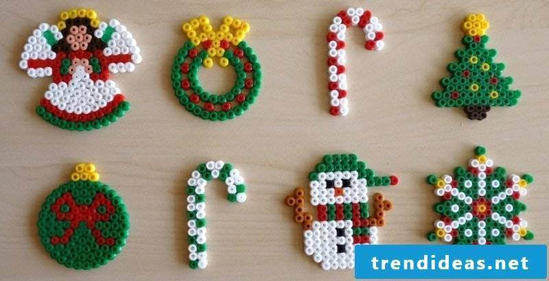 Beading templates Christmas made gorgeous decorations yourself