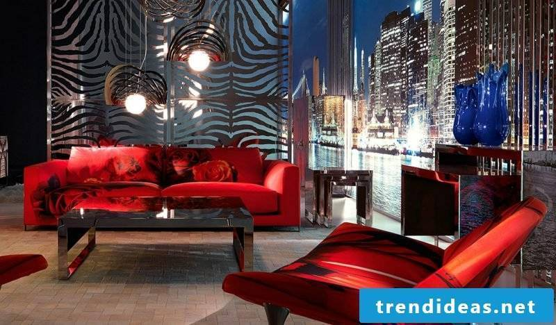 The color variety of Italian designer furniture!