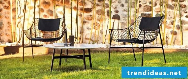 Italian designer furniture for the garden!