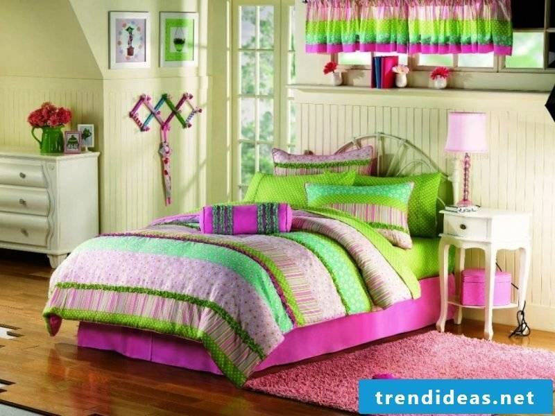 cool-bedded wash-in pop-colors