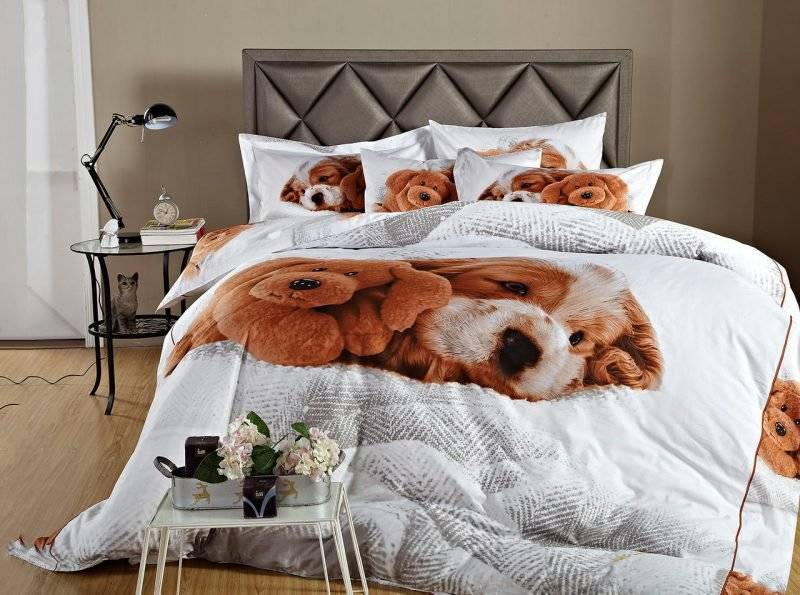 Cool bedding with favorite animals