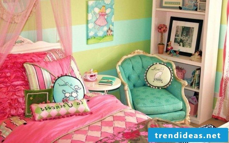 Cool bedding makes your daughter feel like a princess