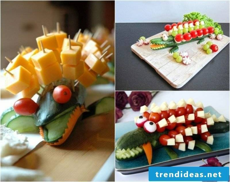 Cooking for kids childrens birthday crocodile funny