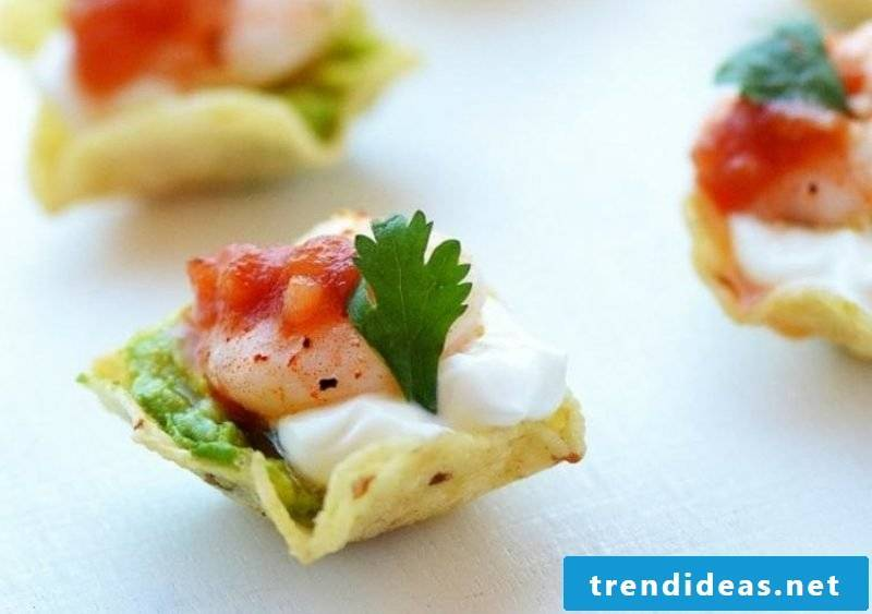 Recipes for children's birthday delicious finger food