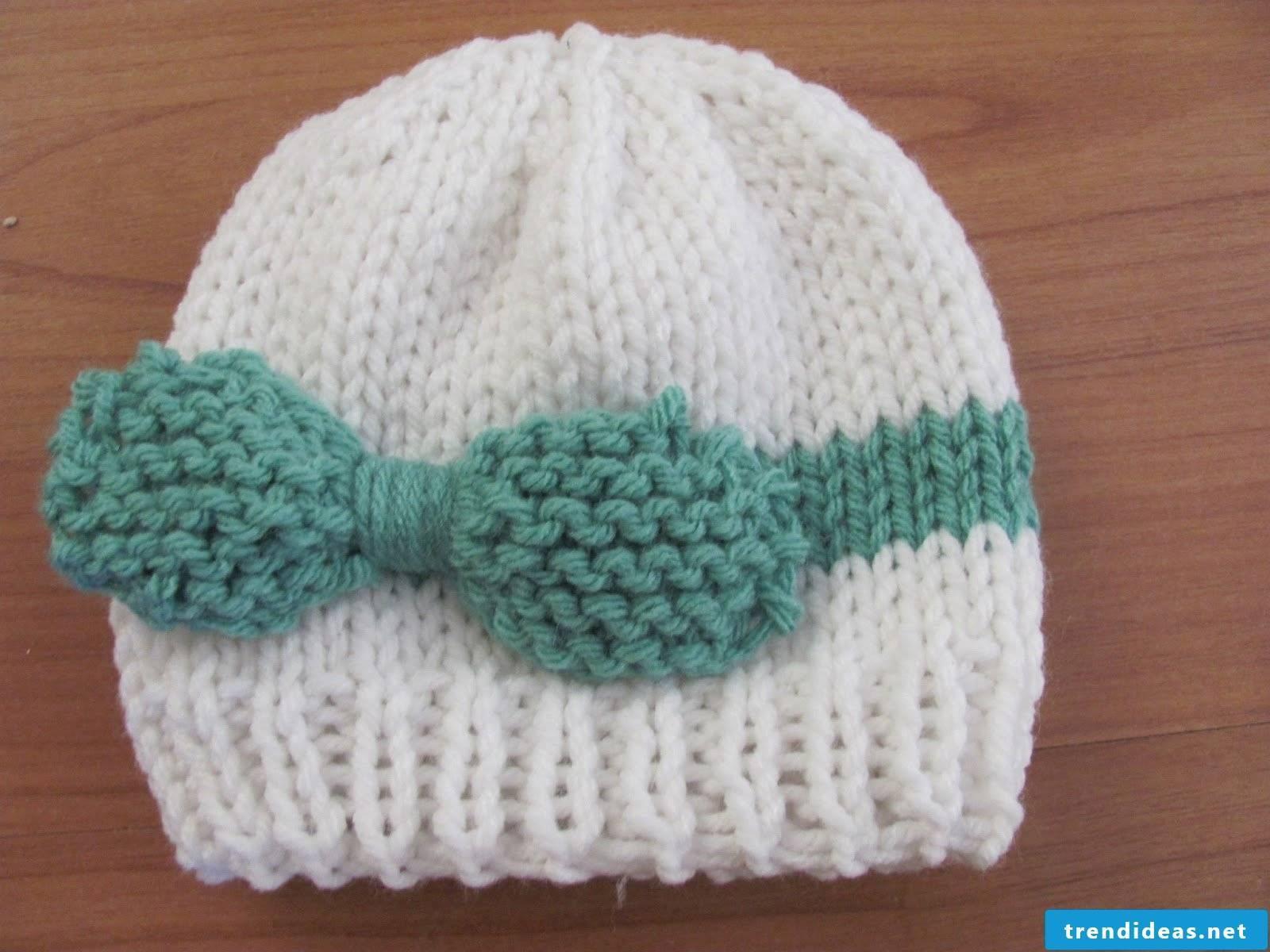 Knitting cap - instructions