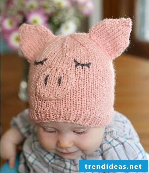 The cute piggy with the ears