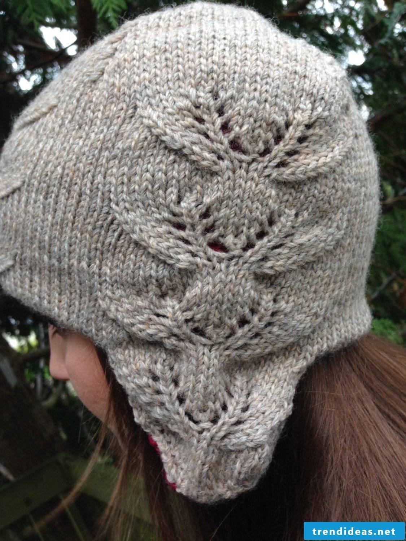 Crochet a great hat in gray