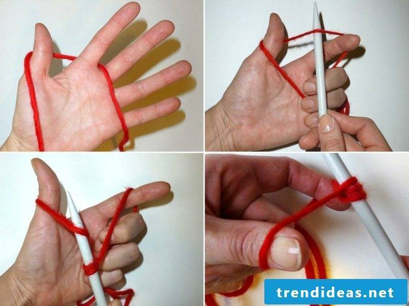Knitting for beginners first stitch