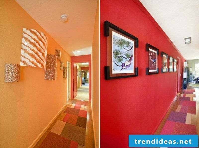 Corridor design color scheme