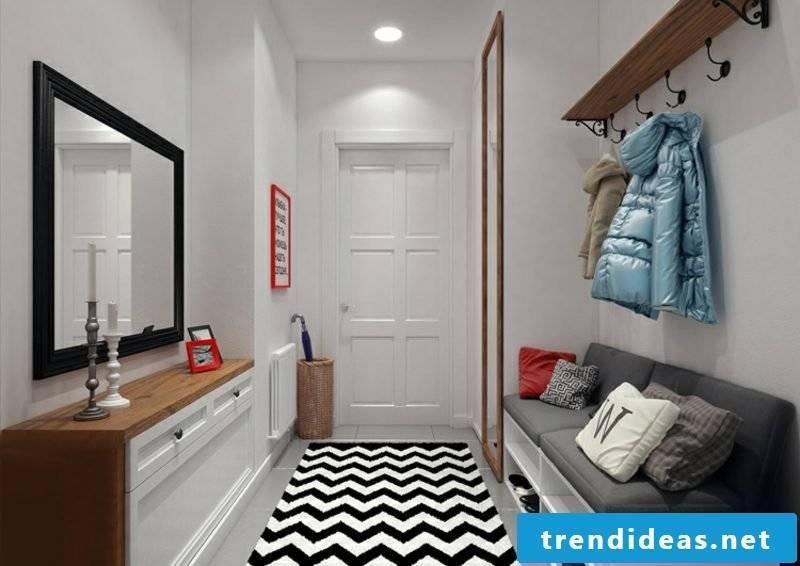 Hallway design modern ideas