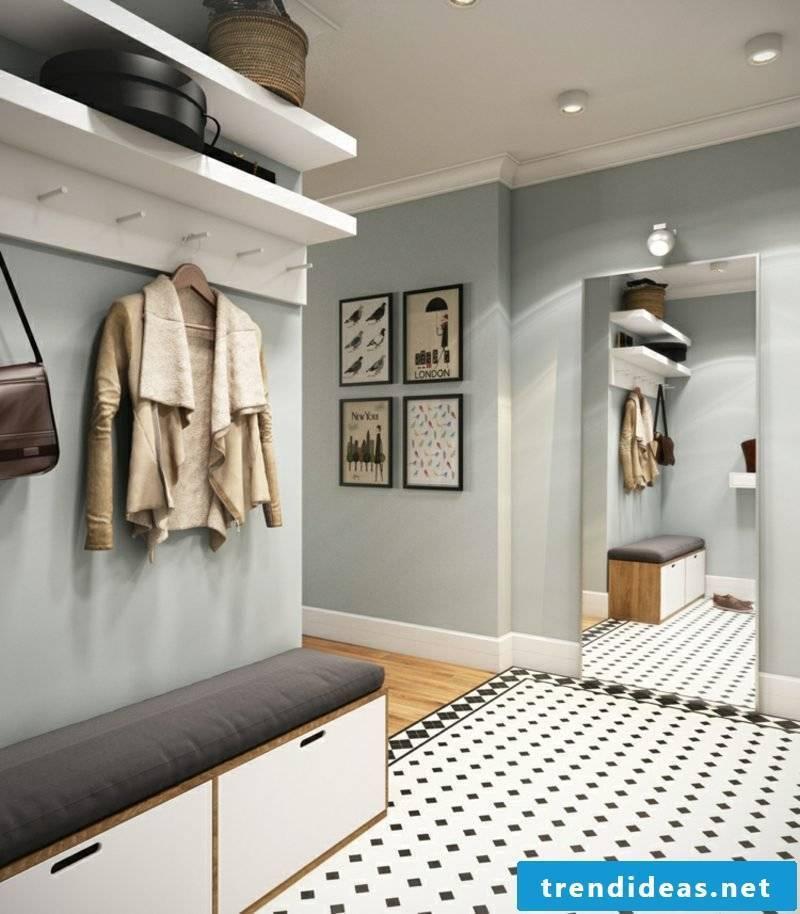 Hallway design modern and practical