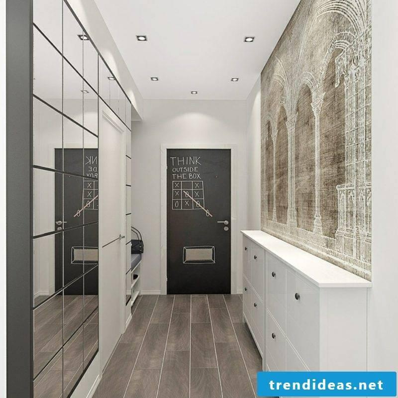 Hallway design practical and modern ideas