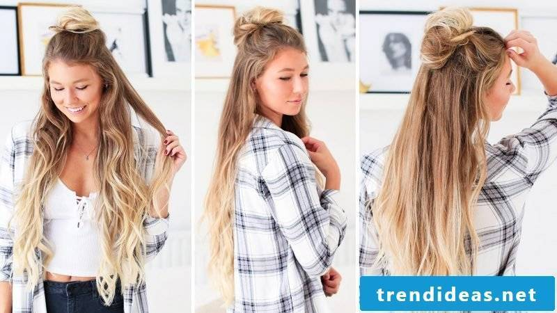 Updos long hair