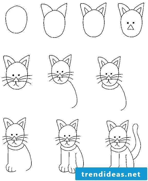 Simple drawings for children