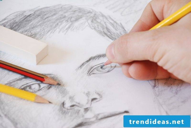Portrait drawing for beginners